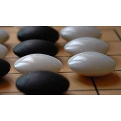 Piedras de Go de Vidrio 7mm