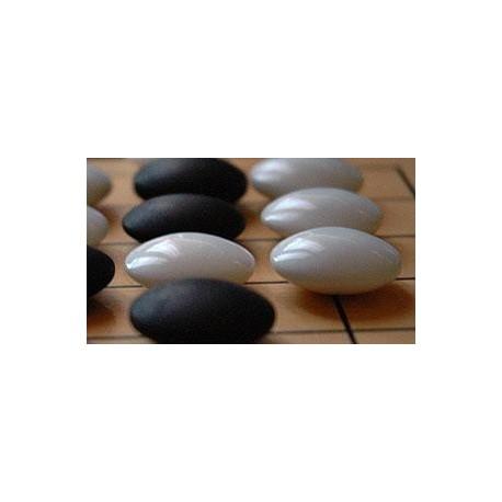 Piedras de Go de Vidrio 9mm.