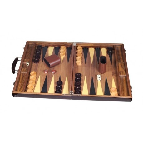 Backgammon Deluxe Wood