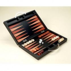 Leather Backgammon - Deluxe Set