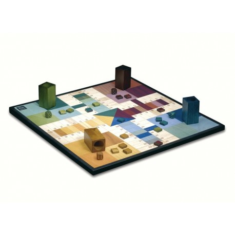 Parchis Deluxe Wood - Ludo
