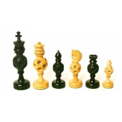 Chess Sphere Pieces - Ebony
