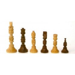 Totem Artistic Chess Pieces - Rosewood
