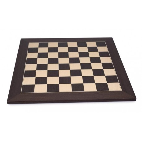 Wenge Chess Board - Boxes 50mm