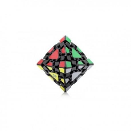 Cube Gear Octahedron Black -Lanlan