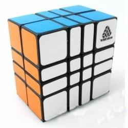 Cube 4x4x2 Black WitEden