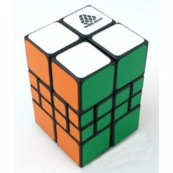 Cube 2x2x4 Square Black - WitEden