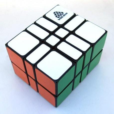 Cube 2x3x4 Camouflage Black - WitEden