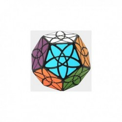 Cube Bauhinia Dodecahedron Black - MF8