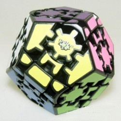 Cube Gear Megaminx III Black - Lanlan