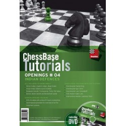 Chessbase Tutorials vol 4 : Indian defenses DVD