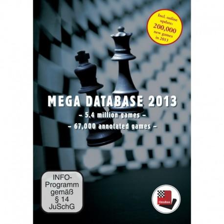 Mega Database 2013 DVD
