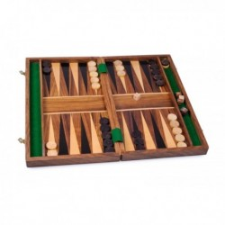 Backgammon en sheesham, modelo mediano