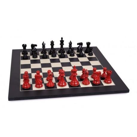 Full set Stallion varnished in red and black