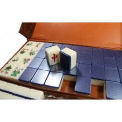 Mahjong Blue 3 players