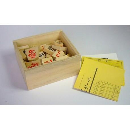Shogi Pieces of Wood