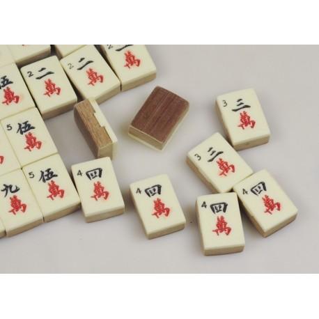 Mahjong Hueso-Bambu Antiguo