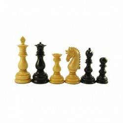 Piezas de ajedrez Dublin Black