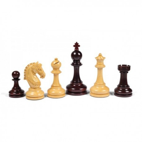 Armored Chess Pieces of Rosewood