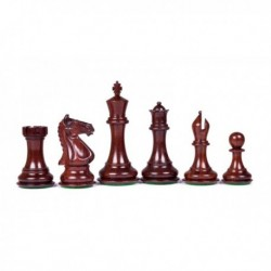Piezas de ajedrez Chess Master palo de rosa